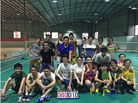 2015年7月羽毛球比赛